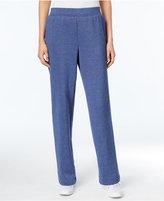 Karen Scott Pull-On Fleece Pants, Only at Macy's