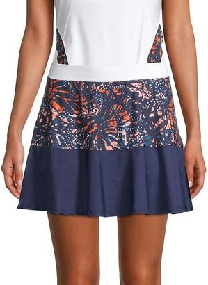 Eleven By Venus Williams Colorblock Swing Skirt