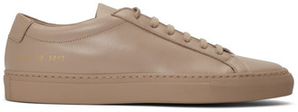 Common Projects SSENSE Exclusive Pink Original Achilles Low Sneakers