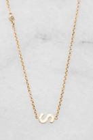Tai Gold Alphabet Necklace S Gold