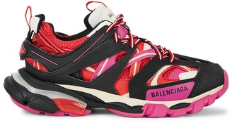 Balenciaga Track leather and mesh sneakers