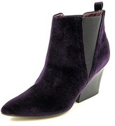 Report Signature Myrna Women Pointed Toe Canvas Bootie.