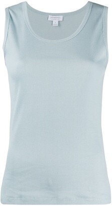 Sunspel Ribbed Tank Top