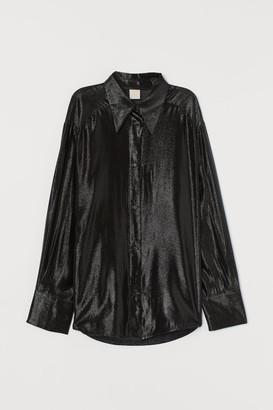 H&M Glittery shirt