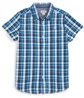 Original Penguin Boy's Plaid Shirt