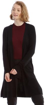 Tokito Black Long Line Cardigan