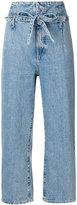 Current/Elliott Corset cropped jeans - women - Cotton - 25