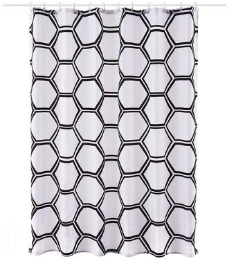 Aqualona Honeycomb Shower Curtain