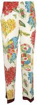 Gucci Corsage Print Pajama Trousers