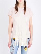 Stella McCartney Star-appliqué cotton-jersey T-shirt