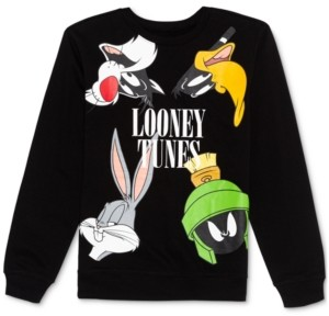 Warner Brothers Juniors' Looney Tunes Sweatshirt