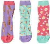 LittleMissMatched Girls 4-9 Little Miss Matched 3-pk. Scented Anklet Socks