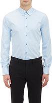 Paul Smith Exclusive Men's Poplin Dress Shirt-BLUE