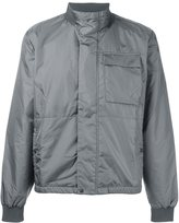 Tomas Maier funnel neck jacket - men - Polyimide - L