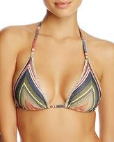 Becca by Rebecca Virtue Village Triangle Bikini Top