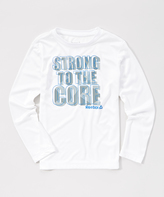 Reebok True White 'Strong to the Core' Crewneck Tee - Boys