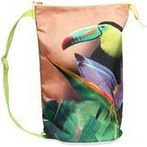 Molo Tucan Print Canvas Nylon Shoulder Bag