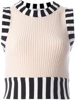 Givenchy knitted sleeveless top
