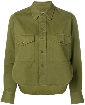 AMI Paris Shirt With Buttoned Chest Pocket