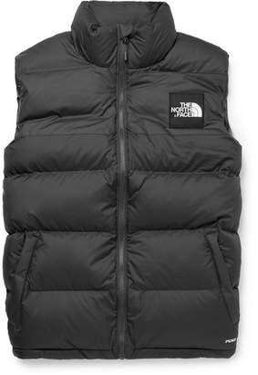 The North Face 1992 Nuptse Slim-Fit Two-Tone Quilted Shell Down Gilet