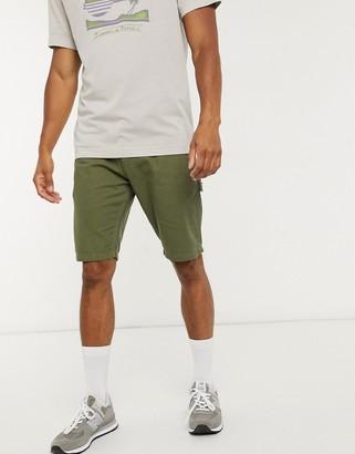 Dickies Fairdale shorts in dark olive