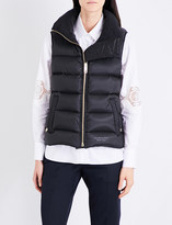 Burberry Bredon shell down gilet