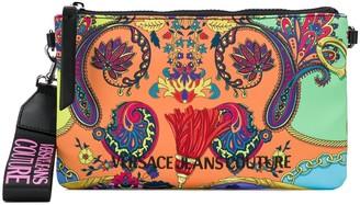 Versace Paisley Print Clutch