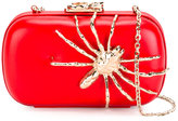 Corto Moltedo Susan C Star clutch bag - women - Nappa Leather/Brass/Silk Satin - One Size