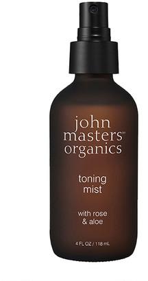 John Masters Organics Toning Mist With Rose & Aloe 118Ml
