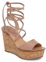 Topshop Women's Wraparound Platform Wedge Sandal
