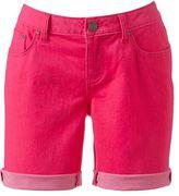 JLO by Jennifer Lopez color denim bermuda shorts