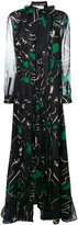 Valentino panther print gown