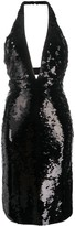 Tom Ford sequin halter-neck dress