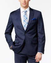 Ben Sherman Men's Slim-Fit Blue Solid Suit Jacket