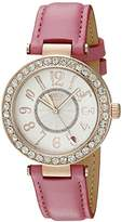 Juicy Couture Women's 1901398 Cali Analog Display Japanese Quartz Pink Watch
