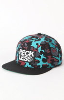 Camo Young & Reckless Snapback Hat