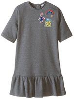 Dolce & Gabbana Back to School Sweatshirt Dress (Toddler/Little Kids)