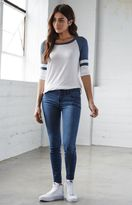 Bullhead Denim Co. London Blue Low Rise Skinny Jeans