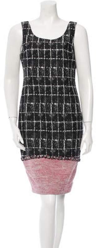 Chanel Tweed Sheath Dress w/ Tags Black Tweed Sheath Dress w/ Tags