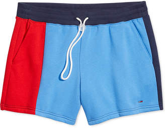 Tommy Hilfiger Adaptive Women Colorblocked Shorts with Cord-Lock Fastener