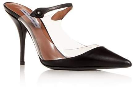 Heel Clear Women's High Mules Allie 3jc4qSR5AL
