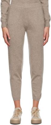 MAX MARA LEISURE Taupe Cashmere Pernice Lounge Pants