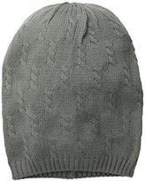 D&Y Women's Cable-Knit Beanie
