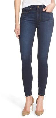 Paige Transcend - Hoxton High Waist Ankle Ultra Skinny Jeans
