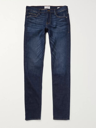 Frame L'homme Slim-Fit Dry Denim Jeans