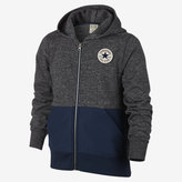 Nike Converse Knit Woven Full-Zip Big Kids' (Boys') Hoodie (XS-XL)