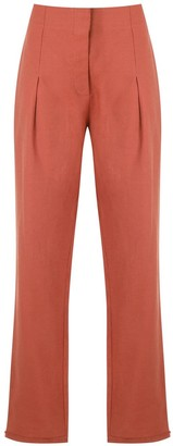 Alcaçuz Marles linen trousers