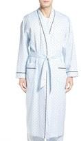 Majestic International 'Twilight Blue' Cotton Robe