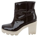 Derek Lam 10 Crosby Patent Leather Ankle Boots