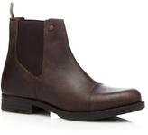 Jack & Jones Brown Leather Chelsea Boots